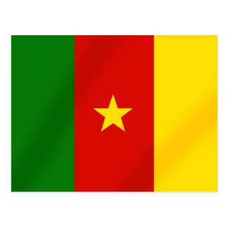 Carte Postale Drapeau canerounais des cadeaux du Cameroun