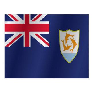 Carte Postale Drapeau d'Anguilla
