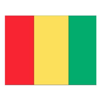 Carte Postale Drapeau de Guinée