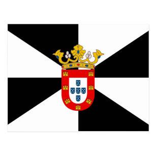 Carte Postale Drapeau de haute qualité Ceuta