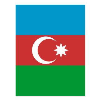 Carte Postale Drapeau de haute qualité de l'Azerbaïdjan