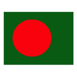 Carte Postale Drapeau de haute qualité du Bangladesh