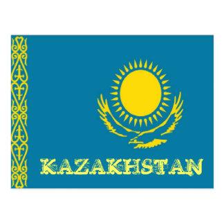 Carte Postale Drapeau de Kazakhstan