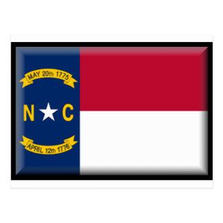 Carte Postale Drapeau de la Caroline du Nord