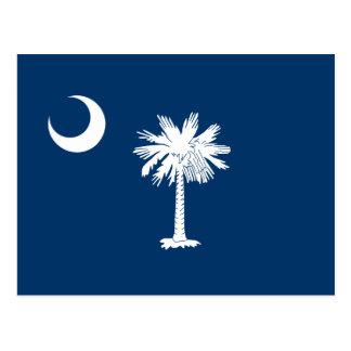 Carte Postale Drapeau de la Caroline du Sud