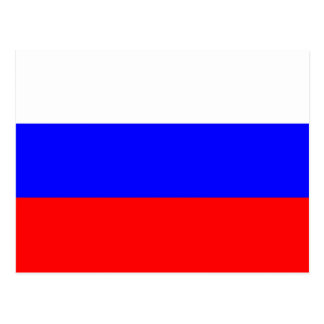 Carte Postale Drapeau de la Fédération de Russie - ФлагРоссии