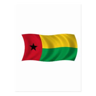 Carte Postale Drapeau de la Guinée-Bissau