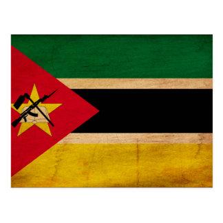 Carte Postale Drapeau de la Mozambique