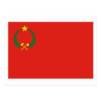 Carte Postale Drapeau de la république populaire du Congo
