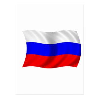 Carte Postale Drapeau de la Russie