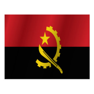 Carte Postale Drapeau de l'Angola