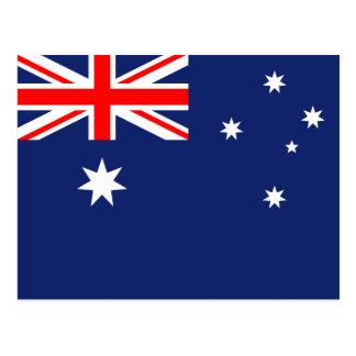 Carte Postale Drapeau de l'Australie