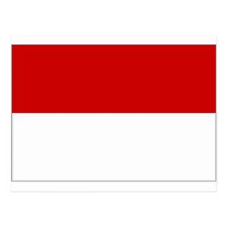 Carte Postale Drapeau de l'Autriche Vienne