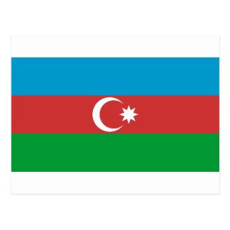 Carte Postale Drapeau de l'Azerbaïdjan