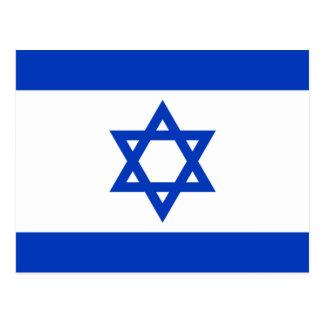 Carte Postale Drapeau de l'Israël