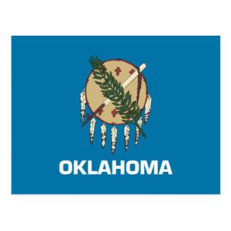 Carte Postale Drapeau de l'Oklahoma