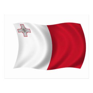 Carte Postale Drapeau de Malte