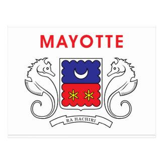 Carte Postale Drapeau de Mayotte