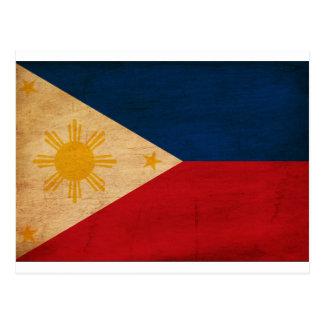 Carte Postale Drapeau de Philippines