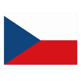 Carte Postale Drapeau de République Tchèque - vlajka de Česká