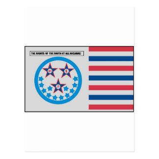 Carte Postale Drapeau de secession employé par la Floride - 10