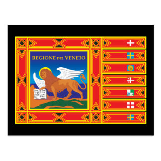Carte Postale Drapeau de Venise