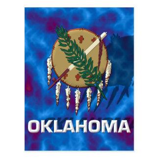 Carte Postale Drapeau d'état de l'Oklahoma