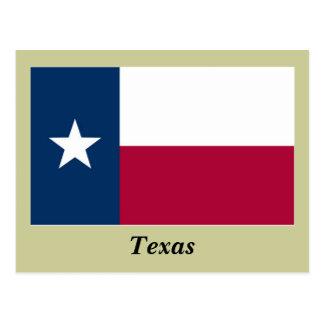 Carte Postale Drapeau d'état du Texas