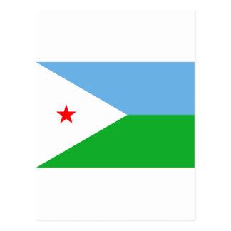 Carte Postale Drapeau DJ de Djibouti