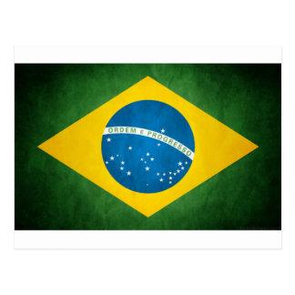 Carte Postale Drapeau du Brésil