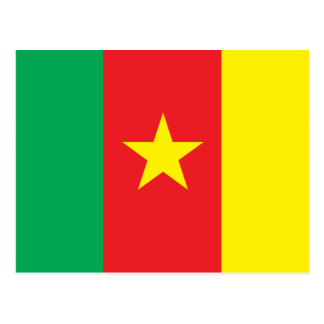 Carte Postale Drapeau du Cameroun