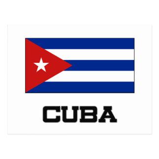 Carte Postale Drapeau du Cuba