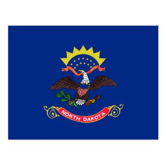 Carte Postale Drapeau du Dakota du Nord