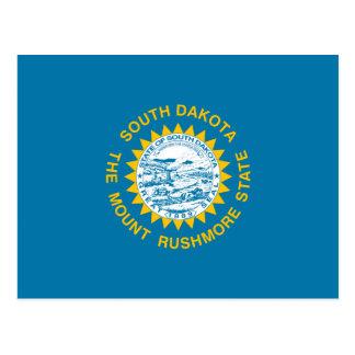 Carte Postale Drapeau du Dakota du Sud