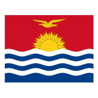 Carte Postale Drapeau du Kiribati