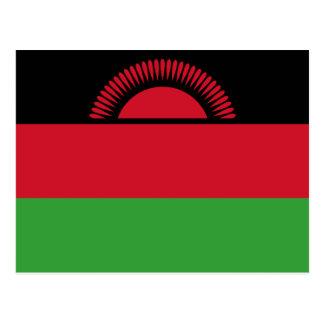 Carte Postale Drapeau du Malawi