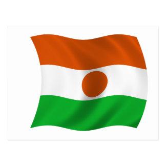 Carte Postale Drapeau du Niger