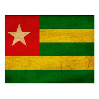 Carte Postale Drapeau du Togo