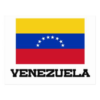 Carte Postale Drapeau du Venezuela