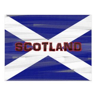 Carte Postale Drapeau écossais