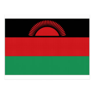 Carte Postale Drapeau national du Malawi