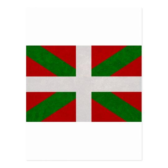 Carte Postale Drapeau Pays Basque Euskadi