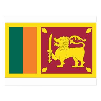 Carte Postale Drapeau sri-lankais