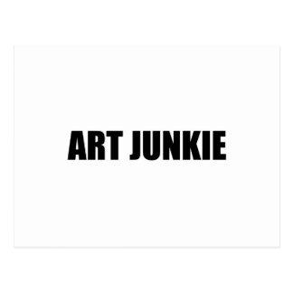 Carte Postale Drogué d'art