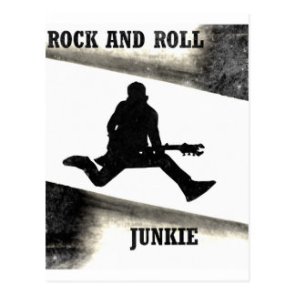 Carte Postale Drogué de rock