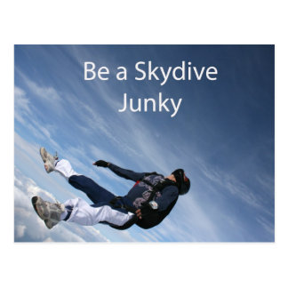 Carte Postale Drogué de Skydive