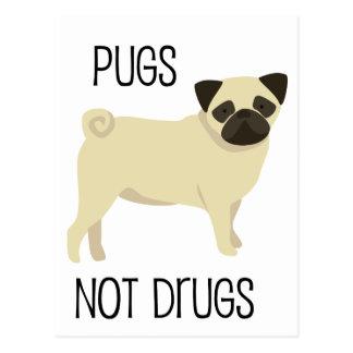 Carte Postale Drogues de carlins pas