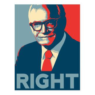 Carte Postale Droit de Barry Goldwater