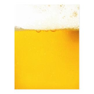 Carte postale drôle de bière