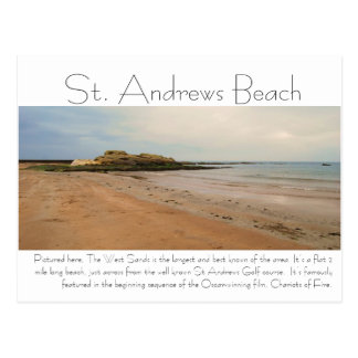 Carte Postale DSC_0217, plage de Saint Andrews, décrite ici,…